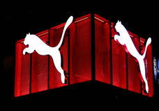 PUMA logo Royalty Free Stock Photos