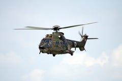 Puma militar do helicóptero Foto de Stock Royalty Free