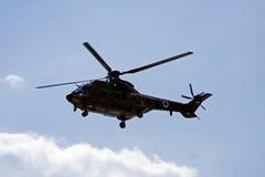 Puma militare dell'elicottero Immagini Stock Libere da Diritti