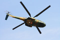 puma military helicopter Royalty Free Stock Image