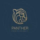 Puma  royal emblem Royalty Free Stock Photography