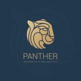 Puma  royal emblem Stock Photo