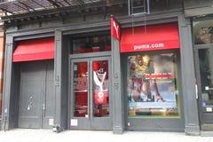 Puma sklep Zdjęcie Royalty Free