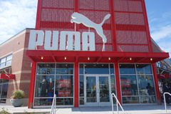 Puma Store Royalty Free Stock Image