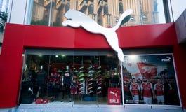 Puma Store Royalty Free Stock Photos