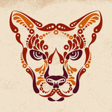 Puma tattoo Royalty Free Stock Images