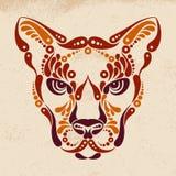 Puma tattoo Royalty Free Stock Images