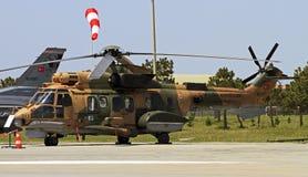 Puma turc de l'Armée de l'Air Images libres de droits