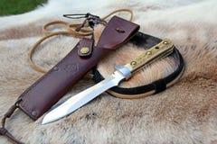 Puma white hunter knife blade Royalty Free Stock Photography