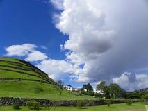 Pumapungo,古城Tomebamba的印加人的废墟?昆卡省,厄瓜多尔 免版税库存照片