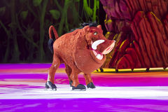 Pumbaa από το βασιλιά λιονταριών Στοκ εικόνες με δικαίωμα ελεύθερης χρήσης