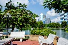 Pumblie park. View point , in , Lumpine Park ,bangkok Stock Photo
