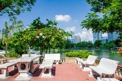 Pumblie park. View point , in , Lumpini Park , bangkok Royalty Free Stock Image