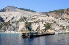 Pumice quarry Royalty Free Stock Photos
