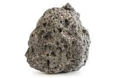 Pumice rough textured volcanic mineral Stock Photos