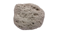 Pumice from Santorini Stock Images