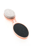 Pumice stone brush Stock Photos