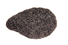 Pumice stone isolated on white background Stock Photos
