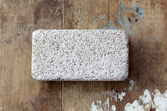 Pumice stone Stock Photo