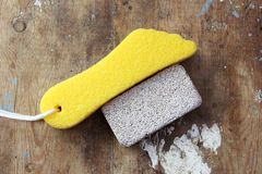 Pumice stone Stock Photos