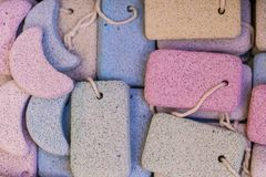 Pumice stone suvenirs from Kos island, Greece.  Stock Images