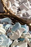 Pumice stone suvenirs from Kos island, Greece Stock Photo