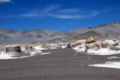 Pumice stones at Campo de Piedra Pomez, Catamarca, Argentina Royalty Free Stock Image