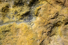 Pumice with Sulphur Stock Photography