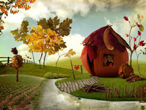 Free Pumkin Cottage Stock Photos - 16384813