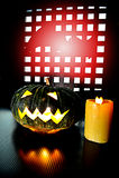 Pumkin for Halloween Stock Photos