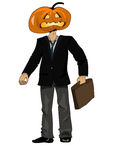 Pumkin head Royalty Free Stock Photo