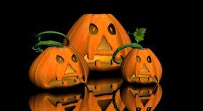 Pumkin jack-o-lantern Stock Images