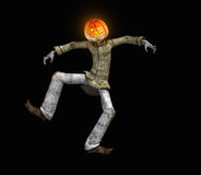 Pumkin man Stock Images