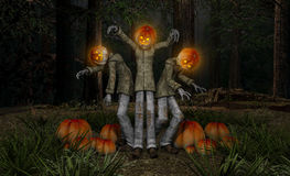 Pumkin men Royalty Free Stock Photography