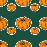 Pumkin Orange Pattern 4 Stock Photography