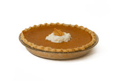 Pumkin Pie. Fresh baked home made pumpkin pie Royalty Free Stock Images