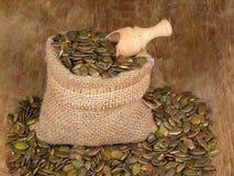 Pumkin seeds Stock Photo
