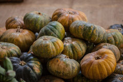 Pumkins at the market Royalty Free Stock Photography