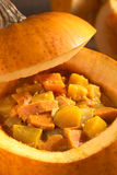 Pumlkin and Sweet Potato Curry Stock Images