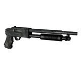 Pump action shotgun Royalty Free Stock Images