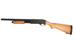 Pump action shotgun Stock Photos
