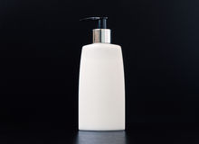 Pump Bottle Skin Cleansing Lotion Royalty Free Stock Photos