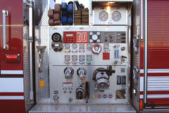 Pump controls Royalty Free Stock Photos
