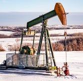 pump för extraktionstålarolja russia västra siberia Arkivfoton