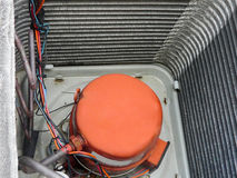 pump för värme för hårbalsam för luftkompressor Fotografering för Bildbyråer