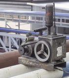 Pump för vaccuum för luftkompressor Fotografering för Bildbyråer