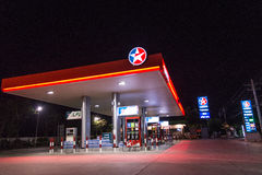 Pump gas. Royalty Free Stock Images