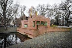 Pump house by Dudok, Hilversum, the Netherlands Stock Photos