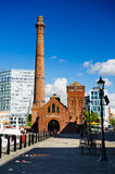 The Pump House in Liverpool Royalty Free Stock Photo