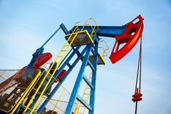 Pump jack Stock Photography